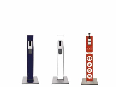 Hand-Hygiene Spender Säulen